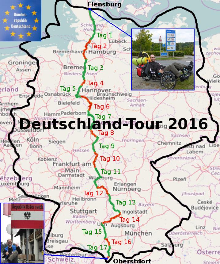 Stefans Deutschland Tour 2016 Flensburg Oberstdorf Leupers Net