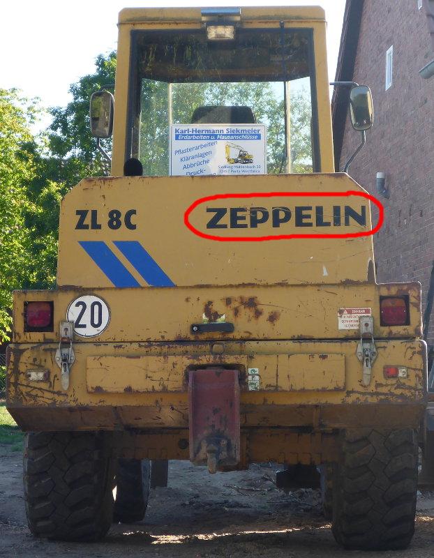 zeppelin-bagger